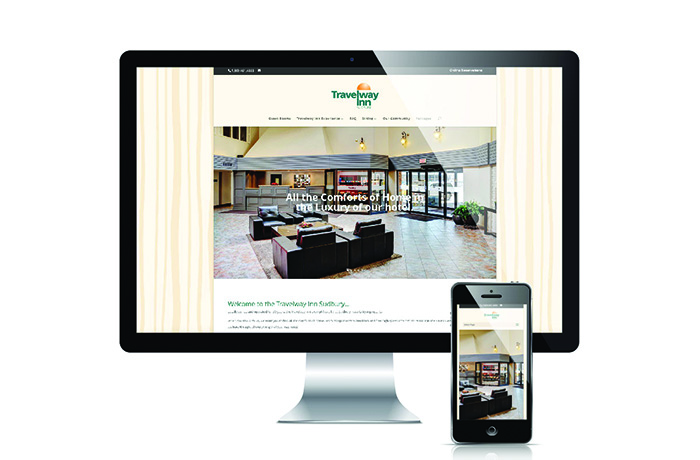 Travelway Inn Sudbury Website
